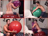 Gay Balloon Fetish Video